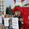 У Хмельницькому комуністи пропіарилися на відсутності гарячої води – ФОТО