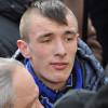 Хмельницького свободівця, який спалив прапор Партії регіонів, арештували