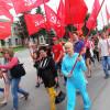 Вack in the USSR: на Хмельниччині комуністи влаштували комсомольський марш – ФОТО