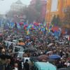 Марш УПА у Києві зібрав понад 20 тисяч учасників.  Хмельничани очолювали колону!