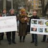 Хмельницькі журналісти підтримали жорстоко побиту Тетяну Чорновол, пікетувавши облМВС – ФОТО