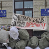 Майдан відмовляється пускати до Хмельницької ОДА губернатора і його заступників – ФОТО