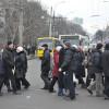 У Хмельницькому мітингуючі заблокували вулиці – ВІДЕО, ФОТО