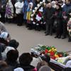 Хмельницький попрощався із жінкою, яка отримала вогнепальне поранення під обласним СБУ – ФОТО