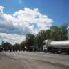 На Кам'янеччині селяни перекрили дорогу через вибори – ФОТО