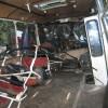 У Хмельницькому автобус із 30 пасажирами злетів у річку – ФОТО
