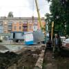 Із привокзальної площі Хмельницького почали демонтувати торговельні кіоски