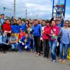 На фарбування мосту над Південним Бугом зібрали 2000 гривень та 30 волонтерів