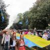 Хмельницьким пройшов марш вишиванок на День Незалежності