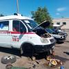 Автомобільна санрота Хмельницького замість того, щоб їхати в АТО, погрузла в ремонтах
