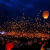 У Хмельницькому запустили кілька тисяч небесних ліхтариків за мир в Україні