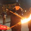 У Хмельницькому на марші пам'яті героїв Крут спалили опудало Путіна