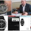 Начальник Кам'янець-Подільської міліції засвітив годинник за 24 тисячі гривень