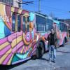 """У Хмельницькому на День Перемоги пустять на рейс розфарбований тролейбус від """"Республіки"""""""