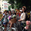 У Хмельницькому під дощем проїхався дівочий велопарад