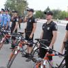 У Славуті дільничних інспекторів пересадили на велосипеди і скутери