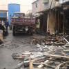 Збитки від пожежі на центральному ринку в Кам'янці оцінюються в 10-12 млн. грн