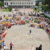 Середмістя Білогір'я школярі оживили флешмобом