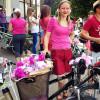 У рожевому на ровері – хмельницькими вулицями проїхався дівочий велопарад