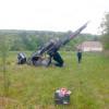У Новоушицькому районі впав вертоліт, який обробляв поля