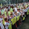 У Хмельницькому 25 хорів ветеранів одночасно виконали український славень