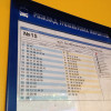 На зупинках громадського транспорту у Хмельницькому з'явилися таблички з розкладом руху тролейбусів
