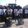 Блокада молокозаводу у Білогір'ї продовжується. На черзі облога підрозділу у Гадячі та маєтку власника