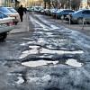 У Симчишина кажуть, що підрядники ще не бралися за ліквідацію неякісного ремонту доріг