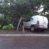 У Ярмолинцях автівка зрізалася в електропору, загинуло двоє пасажирів