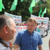 Громадські активісти та представники УКРОПу вимагають припинити забруднення річок Случ і Хомора