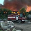 У Городку згорів склад з відходами текстильного виробництва