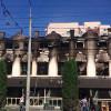 Масштабна пожежа у Хмельницькому – згоріли приміщення меблевого цеху та офісів (Оновлено)