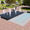 У Хмельницькому провокзальна площа отримає нову зупинку, освітлення та пішохідний фонтан