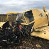 На Хмельниччині впав літак, який обприскував поля соняшника