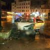 У Хмельницькому п'яний поліцейський в'їхав у білборд
