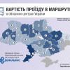 Порівняльна вартість громадського транспорту у Хмельницькому з іншими обласними центрами України