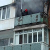 У Хмельницькому з палаючої багатоповерхівки врятовано п'ятеро людей