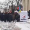 У Хмельницькому кілька десятків людей долучилися до маршу за відставку Президента