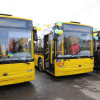 На вулиці Хмельницького вийшло сім тролейбусів, які купувалися майже рік