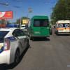 Поліцейські з'ясовують обставини ДТП, в якій пасажирка випала з хмельницької маршрутки