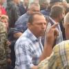 Мер Старокостянтинова розганяв блокувальників молокозаводу і керував поліцією