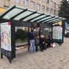 У Хмельницькому встановили перші дві «розумні» зупинки громадського транспорту