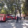 У центрі Хмельницького горіла школа, в якій було виявлено 15 порушень пожежної безпеки