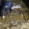 У Полонському районі знайдено три мішки з боєприпасами