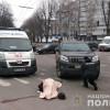 У центрі Хмельницького водій Toyota Land Cruiser збив на смерть 63-річну жінку