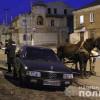 Курйозне ДТП: у Шепетівці чоловік на викрадених конях в'їхав у припарковану Audi