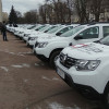 Опора: медикам Хмельниччини дарували автомобілі та розповідали про переваги чинного Президента