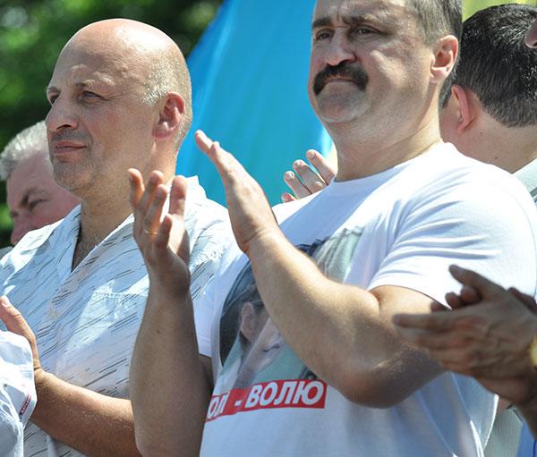 Олександр Ксенжук і Василь Кравчук (зліва направо). Фото Віталія Тараненка