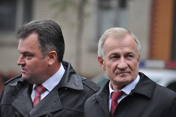 Сергій Мельник і Микола Дерикот