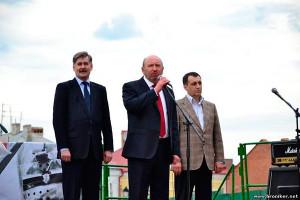 Зліва направо: Олександр Мазурчак, Михайло Сімашкевич, Володимир Мельниченко. Фото сайту Хронікер